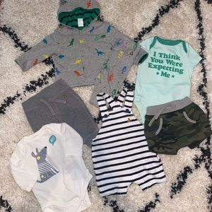 Gap Baby Boy Lot of 7 (3-6 M) Pre-Owned